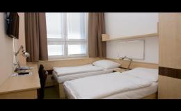 Dvoulůžkový pokoj hotelu FBA v Praze