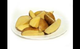 Vakuově balené syrové bramborové polotovary