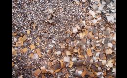 Dodávky zpracovaného kovového odpadu do sléváren a hutí