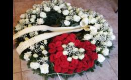 Smuteční vazba - Zahradnictví a květinářství Bellis v Prostějově