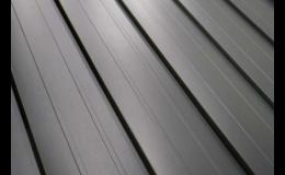 Plechový střešní panel Roofklik CZ