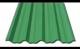 Trapézové plechy na rovné střechy