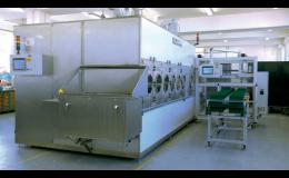 Průběžná odmašťovací zařízení pro strojírenský průmysl