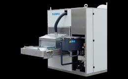 Průběžná odmašťovací zařízení pro lisovny, lakovny, obrobny, údržbu