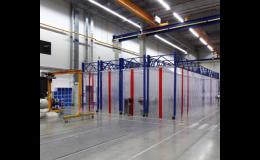 PVC clony k ochraně pracovníků výrobních provozů
