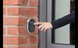 Elektronické otevírání bezpečnostních dveří
