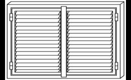 Bezpečnostní okenice ve třech provedeních