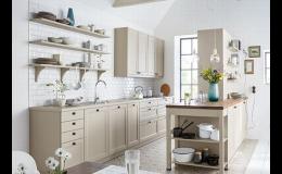 Modulová kuchyně s vnitřním vybavením