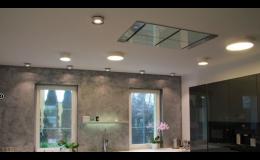 Osvětlení kuchyně - stropní, nástěnná a stojací svítidla