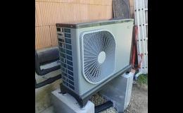Tepelná čerpadla vzduch/voda k vytápění i chlazení