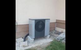 Efektivní tepelná čerpadla vzduch/voda pro úsporu nákladů za energie