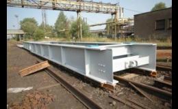 Průmyslové kolejové váhy Tenzona