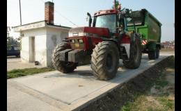 Průmyslové váhy pro zemědělství, stavebnictví