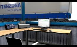 Automatizace průmyslových vah - tiskárna pro řidiče