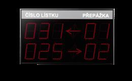 Halový displej QDH_03 vyrábí a dodává TETRONIK