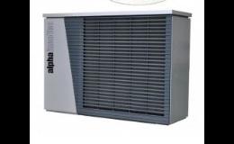 Nástěnné tepelné čerpadlo vzduch-voda pro topení, ohřev, chlazení