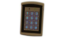 Autonomní jednotka s klávesnicí, TETRONIK v.d.