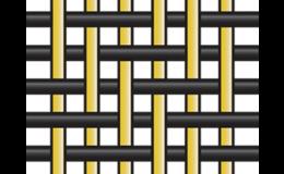 Keprová vazba skelné nebo rovingové tkaniny