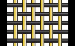 Plátnová vazba u hybridních tkanin