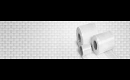 Tkaní skelných, rovingových, hybridních pásků