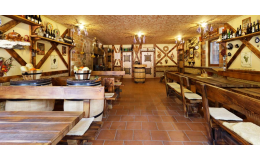 Vinárna ve Valticích s kapacitou 32 osob