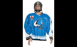 Profesionální hokejové dresy, tréninkové dresy, fan dresy