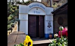Stylový vinný sklep v Hustopečích u Brna
