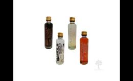 Hustopečské likéry - višňový, ořechový, zázvorový