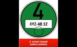 EKO plakety pro vjezd do měst v Německu