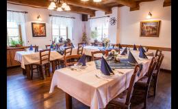 Pronájem prostoru pro svatební hostinu v Hotelu Roubenka