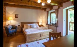 Možnost ubytování ve stylovém Hotelu Roubenka