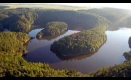Navštivte přehradu Dalešice v blízkosti hotelu Zámek Valeč