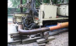 Vrtné soupravy pro hydrogeologické vrty studní