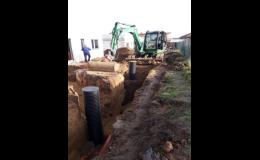 Zemní práce vlastním technickým vybavením