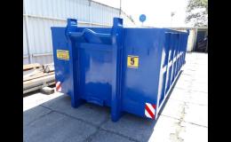 Pronájem kontejnerů na stavební suť