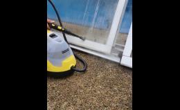 Vysokotlaké strojní čištění dlažeb, fasád, střech, chodníků