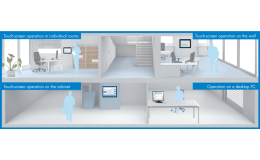 Monitoring a kontrola budov SAUTER Vision Center