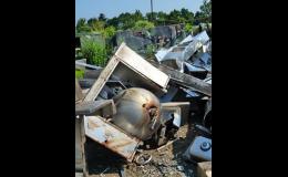 Dodávky kovového odpadu do sléváren