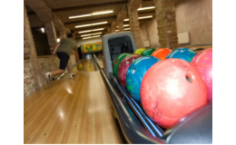 Bowlingová dráha hotelového komplexu Kurdějov na jižní Moravě