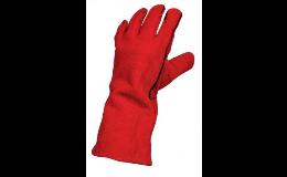 Svářečské rukavice, ochranné osobní pomůcky pro svářeče
