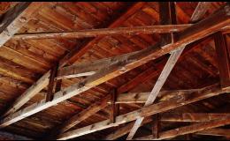 Opravy a rekonstrukce starých střech
