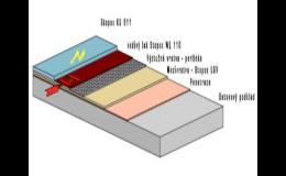 Antistatické podlahy pro odvod elektrostatického náboje