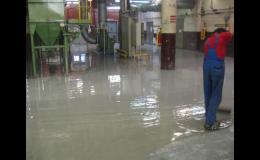 Pancéřové podlahy do provozů s extrémně vysokým zatížením