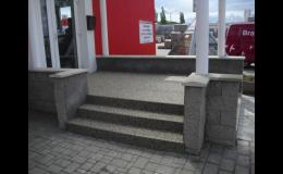 Schody, terasy, balkony s kamenným kobercem PERFECT STONE