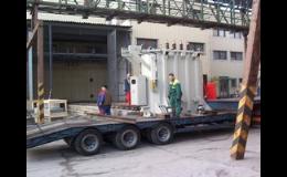 Rekonstrukce rozvodných zařízení, S.G. CZ, spol. s r.o.
