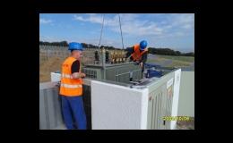 Dodávka kioskové betonové trafostanice, S.G. CZ, spol. s r.o.