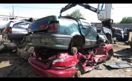 Společnosti HULMAN - kovošrot s.r.o. poskytuje výkup a likvidaci autovraků
