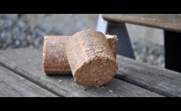 Dřevěné brikety od společnosti Wood Cité, s.r.o. Uherské Hradiště