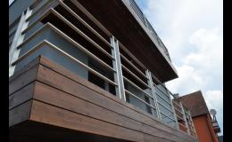 Dřevěné fasády Thermowood Zlín realizuje společnost Wood Cité, s.r.o.