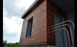 Fasády ze dřeva od společnosti Wood Cité, s.r.o. Zlín